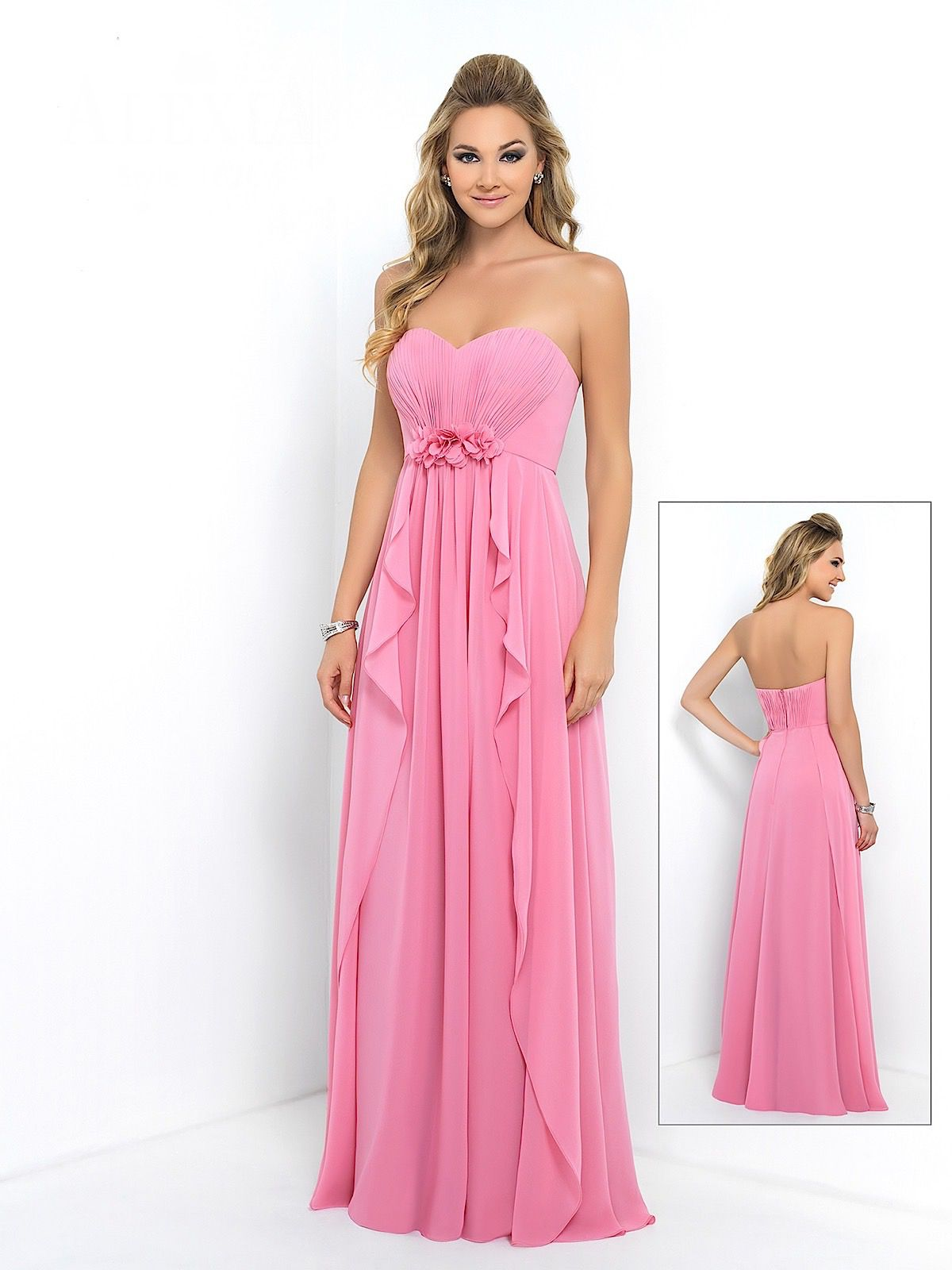 BRIDESMAIDS DRESS STYLE BM0182L FULL LENGTH - The Bridal Company